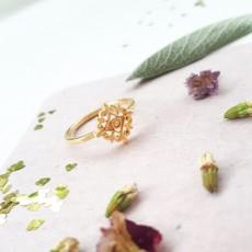 טבעת פרח מגולדפילד